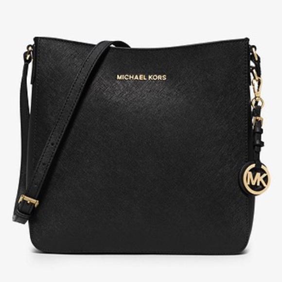 michael kors bags mk jet set travel large saffiano leather rh poshmark com